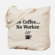 Funny Coffee Tote Bag