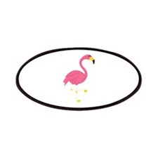 Pink Flamingo Patches