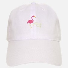 The Flamingo Lady Baseball Baseball Baseball Cap