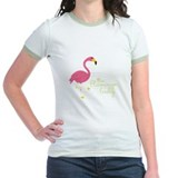 Flamingos Jr. Ringer T-Shirt