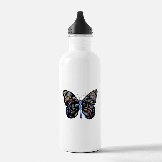 Wild Cool Butterfly Water Bottle