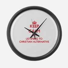Christian radio Large Wall Clock