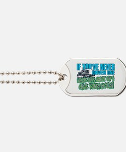 Trucker Back Off Dog Tags
