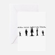 Addams Family Greeting Cards