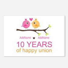 10th Anniversary Personal Postcards (Package of 8)