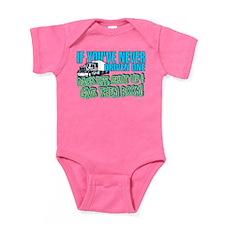 Trucker Back Off Baby Bodysuit