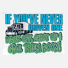 Trucker Back Off Pillow Case