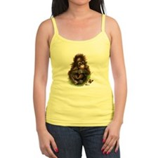 Orangutan Baby and Butterfly Tank Top