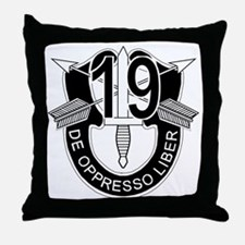 Unique Military special operational forces Throw Pillow