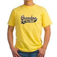 Grandpa Since 2015 T