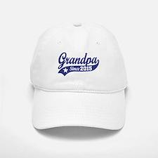 Grandpa Since 2015 Baseball Baseball Cap