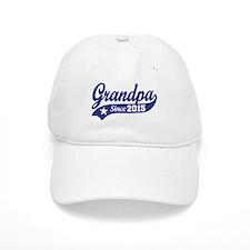 Grandpa Since 2015 Baseball Cap