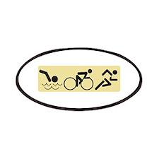Swim Bike Run Patches