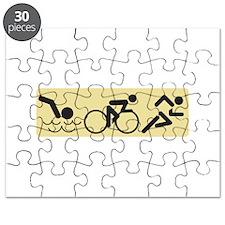 Swim Bike Run Puzzle