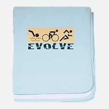 Evolve baby blanket
