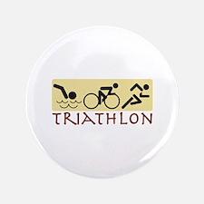 """Triathlon 3.5"""" Button"""