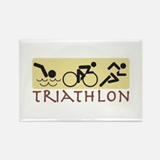 Triathlon Magnets