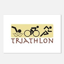 Triathlon Postcards (Package of 8)