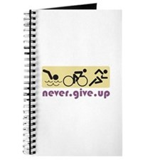 Never Give Up Journal