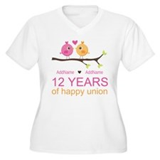 12th Wedding Anni T-Shirt