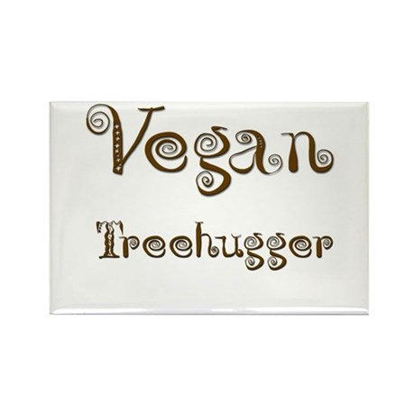 Vegan 1 Rectangle Magnet