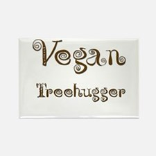 Vegan 1 Rectangle Magnet