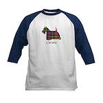 Terrier - Christie Kids Baseball Jersey