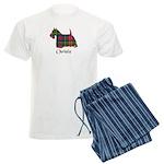 Terrier - Christie Men's Light Pajamas