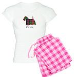 Terrier - Christie Women's Light Pajamas