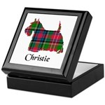 Terrier - Christie Keepsake Box