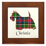 Terrier - Christie Framed Tile