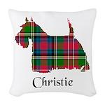 Terrier - Christie Woven Throw Pillow