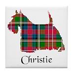 Terrier - Christie Tile Coaster