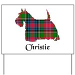 Terrier - Christie Yard Sign