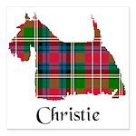Terrier - Christie Square Car Magnet 3
