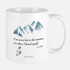 Never Lost in the Mts Mugs