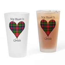 Heart - Christie Drinking Glass