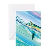 Fly fishing Greeting Cards