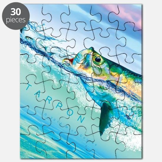 Cute Tarpon fishing Puzzle