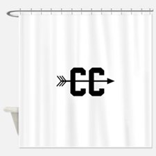 Cross Country CC Shower Curtain
