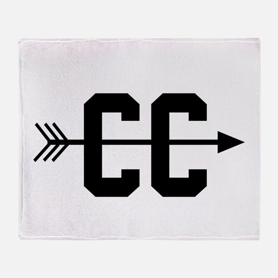 Cross Country CC Throw Blanket