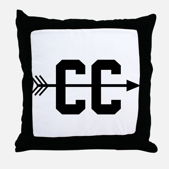 Cross Country CC Throw Pillow