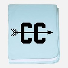 Cross Country CC baby blanket