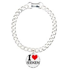 I Love Weekends Bracelet