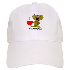 I love my Mommies Koala Baseball Cap