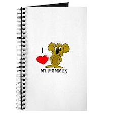 I love my Mommies Koala Journal
