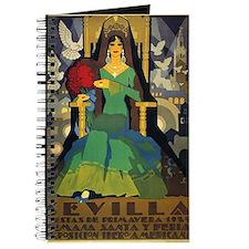 Sevilla, Spain Vintage Poster Journal