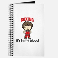 Boxing In My Blood Journal