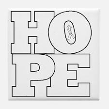 Hope Hollow Ribbon Tile Coaster