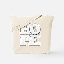 Hope Hollow Ribbon Tote Bag